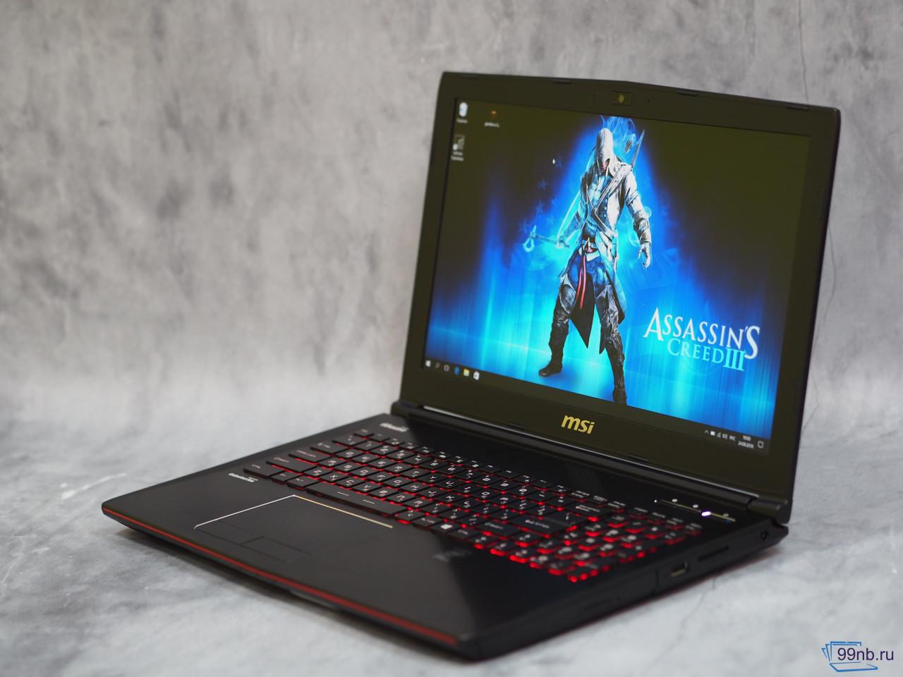Ноутбук MSI это то, что нужно любому геймеру!