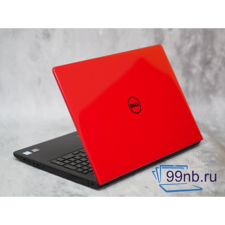 Красный классный Dell в отличном состоянии
